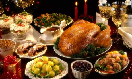 Christmas Dinner In USA | Xmasblor