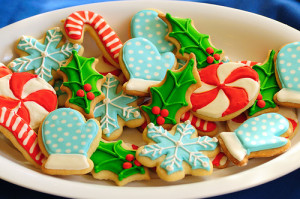 Christmas Day With Christmas Cookies