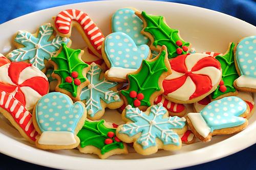 Christmas Day With Christmas Cookies