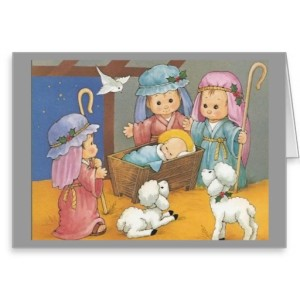 Nativity Scenes Christmas Card