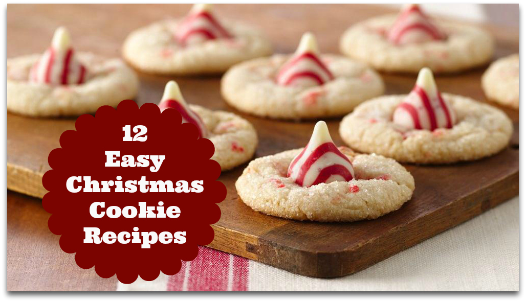 Easy christmas cookies xmasblor for Easy holiday baking recipes for gifts