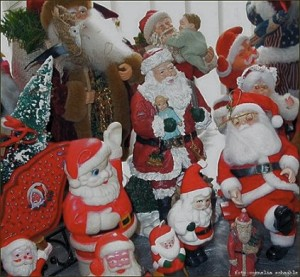 Santa Claus on Christmas