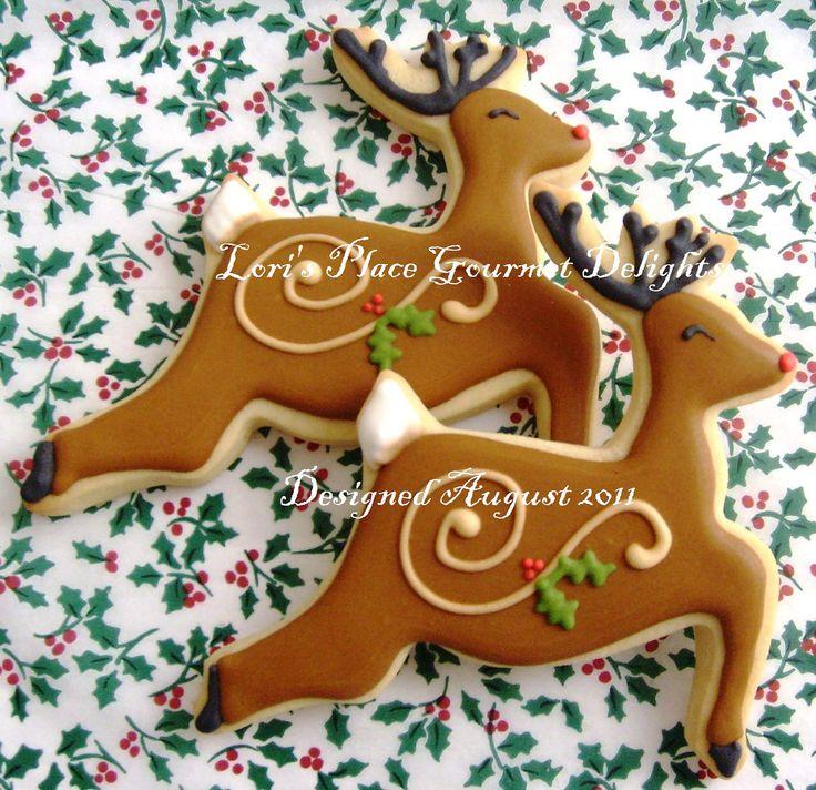 Christmas Cookies Reindeer