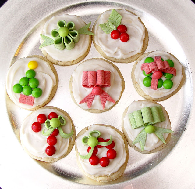 Candy Decorate Cookies