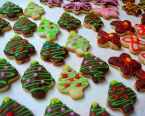Easy Made Christmas cookies