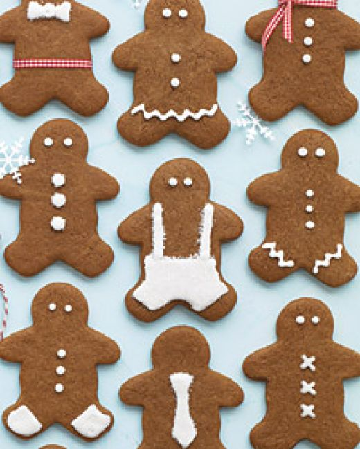 Christmas Gingerbread Men Cookies