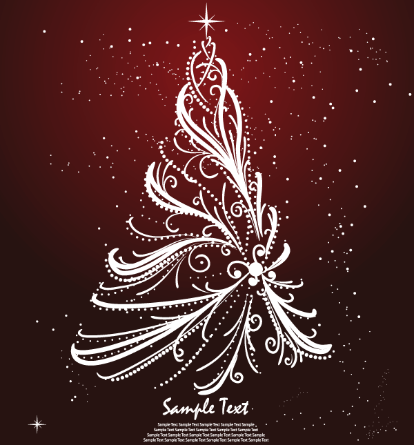 christmas tree card design - Christmas Tree Card