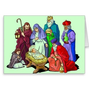 Nativity Scenes Greeting Card