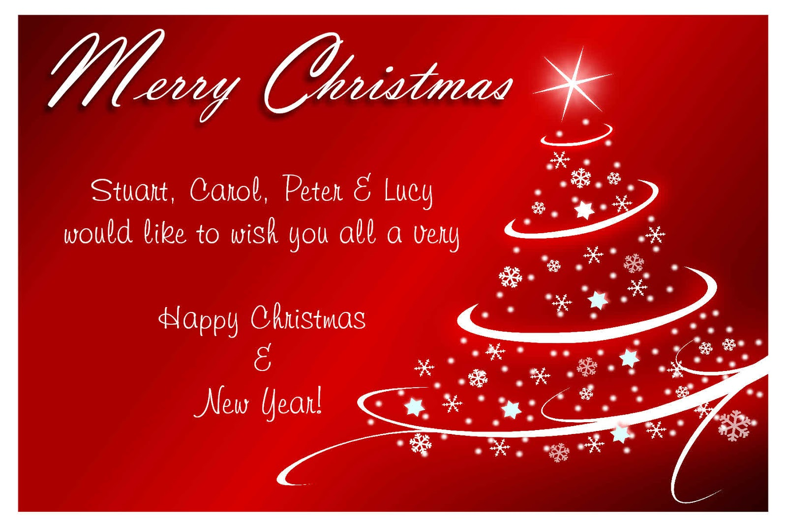 Xmas Greetings Words Christmas Card Sayings Christmas Card Wording