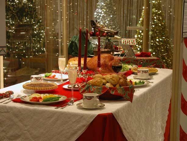 Christmas Dinner Table Ideas | Xmasblor