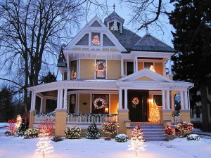 Christmas Houses In USA