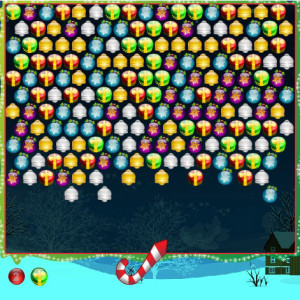 Christmas Bubble Game Online