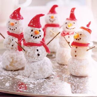 Christmas Snowman Desserts
