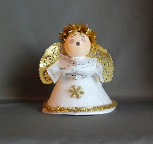 Easy Christmas Angel Crafts