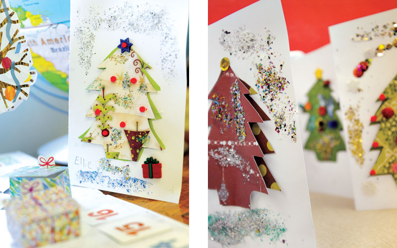 Christmas Card Craft Kids