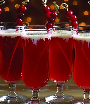Christmas Holiday Cocktail Drink