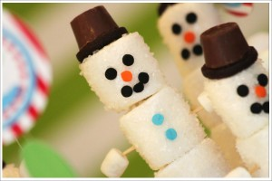 Marshmallow Christmas Craft