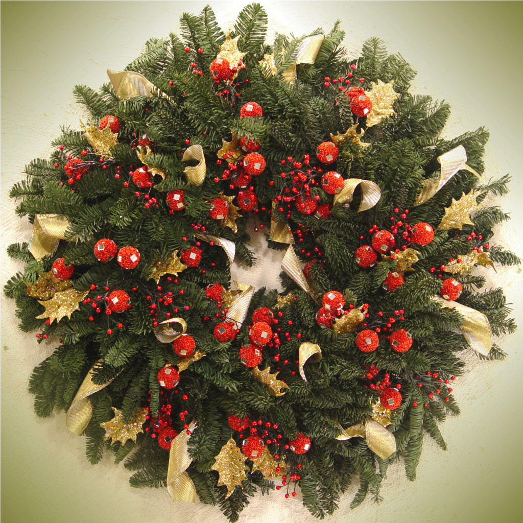 Christmas Wreath and ornaments Ideas