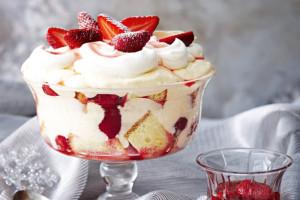 Christmas Cream Cake Dessert