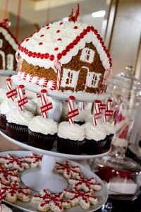 Christmas House Dessert