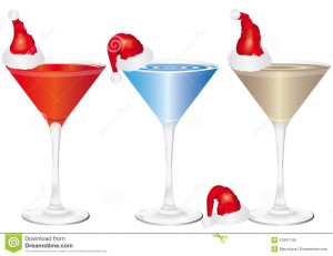 Christmas Drink Clip Art
