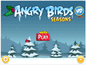 Angry Birds Christmas Game