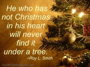 Christmas Holiday Quotes