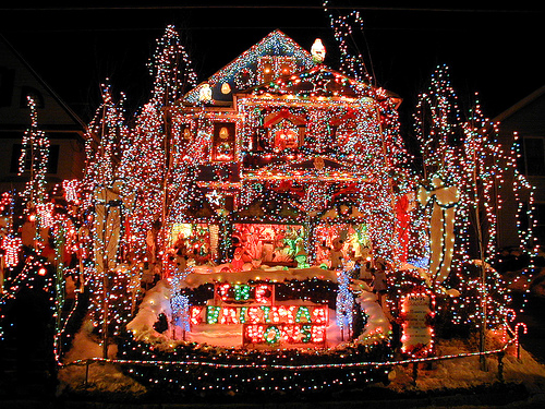 Crazy Christmas House Light