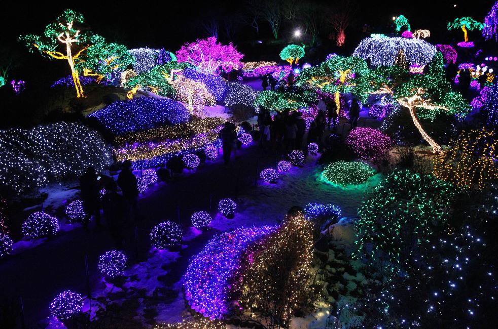 south korea christmas lights - Newest Christmas Lights