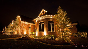 Christmas Decoration by Light