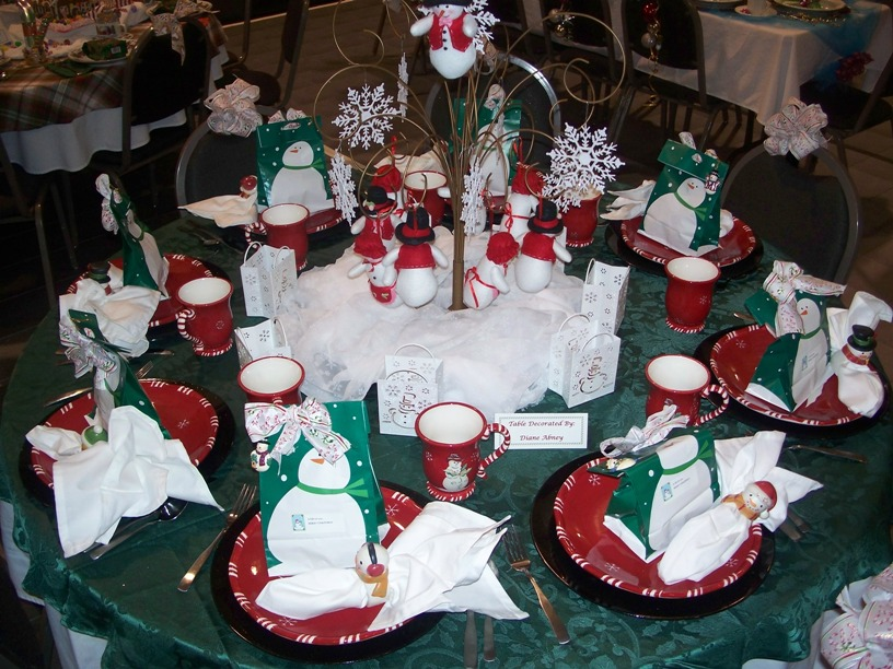 Fun Christmas Theme Party Ideas Part - 43: Christmas Table Decoration