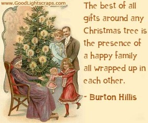 Christmas and Family Quotes