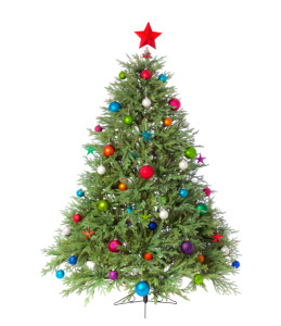 Interested Christmas Tree