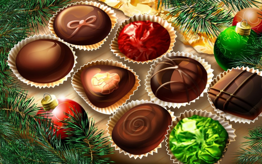Christmas Chocolate Food