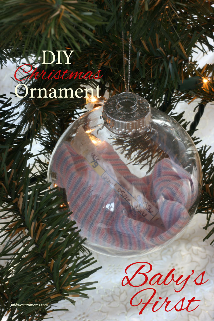 First Christmas Ornament DIY