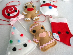 DIY Felt Christmas Tree Ornament
