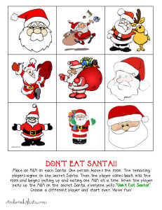 Christmas Classroom Party Game