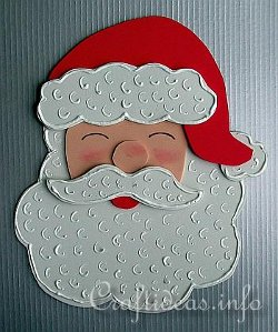 Christmas Santa Fun Craft