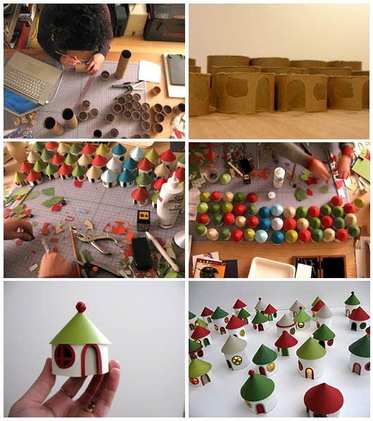 Paper Roll Christmas Craft