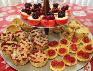 Mini Christmas Desserts
