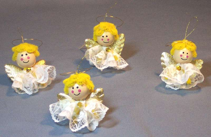 Craft Angel Ornament Christmas