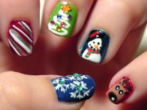 Christmas Nail Art