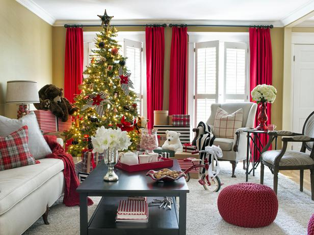 Colorful Christmas Decorating