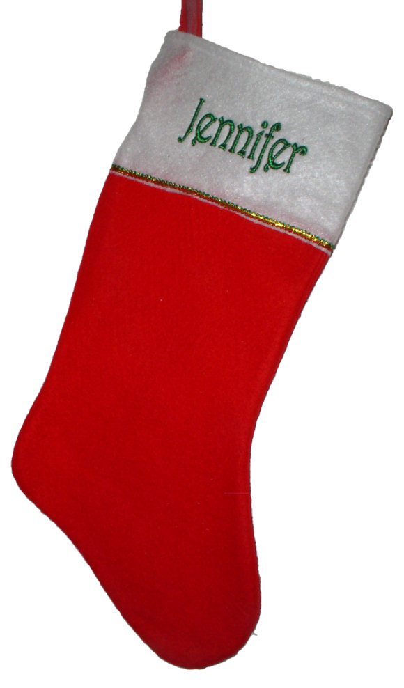 Christmas Stockings Decorated
