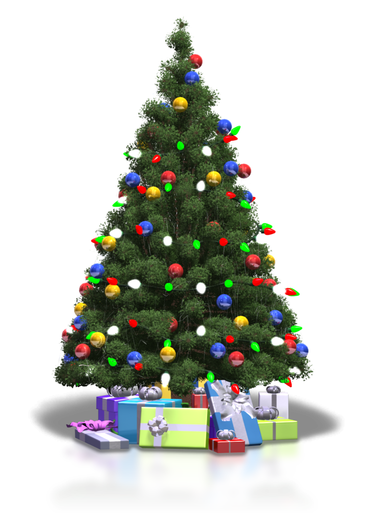 Animated Christmas Tree Xmasblor