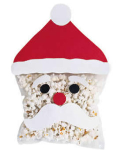Popcorn Santa Craft