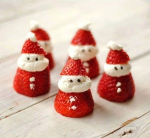 Santa Strawberries Recipes
