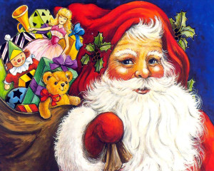 Santa Claus of Christmas Holiday