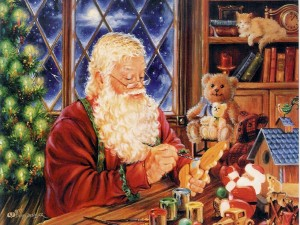 Christmas Santa Claus Workshop