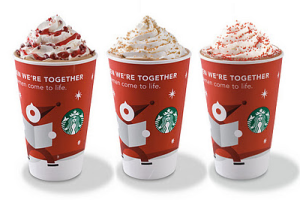 Starbucks Christmas Drink